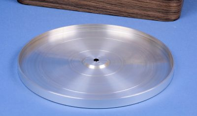 Thorens TD124 Top platter upgrade 2