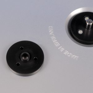 Thorens TD124 top platter centre bearing by Retrotone 4