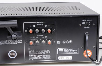 Sansui TA-300 Integrated Tuner Amplifier Stereo Receiver 8