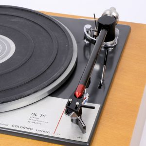 RTL75 tonearm for GL75 turntable