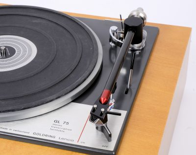RTL75 tonearm for GL75 turntable