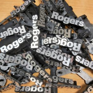 Rogers vintage speaker badges 2